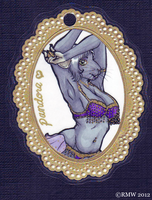 Pandora Fancy Badge for HowAreYouGentlemen of FA by beefyrae