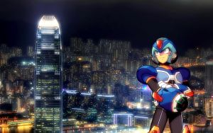 Megaman X - 1920x1200 by alby13