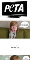 Riley's Confusion towards TV (Part V w/ PeTA) by FutureZootopiaFan