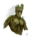 I am Groot! by MatthewHogben
