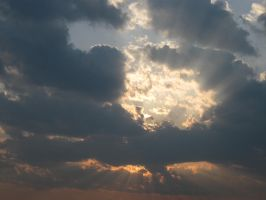 Light Throught The Clouds by martab1986