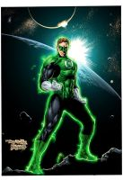 Green Lantern's Light by ColorDojo