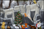 RQ - Happy Christmas from ThunderClan by Ninchiru