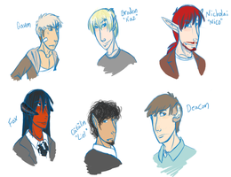 A slew of OCs by Stais
