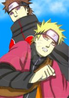 Naruto And Pain 2 by aNiMe0919