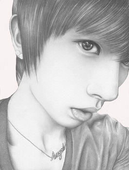 Cheonsa (Angel): Lee Kiseop (U-KISS) by ANGELOFPURITY1992