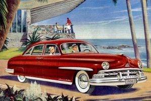 age of chrome and fins : 1950 Lincoln by Peterhoff3