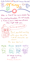 How do I create character? by Jcdr
