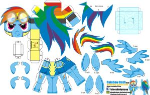 Rainbow Dash Wonderbolts Academy (Joinys002B) by ELJOEYDESIGNS
