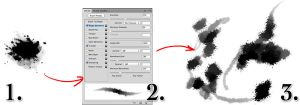 How to make a grungy brush by torstan