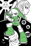 Link BW pic by rongs1234