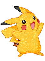 Shiny Pikachu - #025 by RandomDrawerOfArt