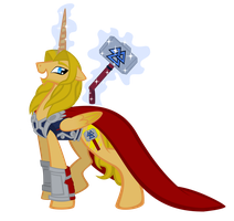 MLP: thor odinson by lizzytheviking