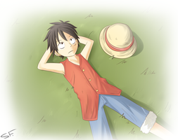 One Piece .:Luffy:. by GrowingLight