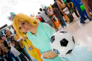Mario Strikers Princess Rosalina by doodle-disaster