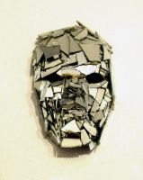 broken mirror mask by JoanLlado