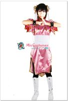 Street Fighter Chun Li Pink Cosplay Costume by miccostumes