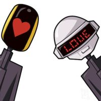 Daft Punk Love by fireproofmarshmallow
