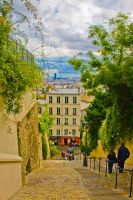 Paris view from Montmartre by editwilson