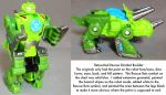 Rescue Bots Dinobot Boulder touchup by dvandom