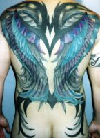Tribal Wings by madamelazonga