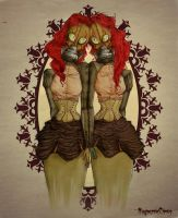 Siamese Twins by NagmerrieCircus