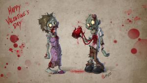 Zombie Valentine by hydriss28