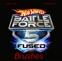 Battle Force 5 Brushes Pk 2 by Tranace-con