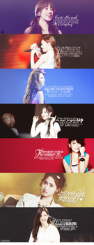 SNSD Quotes Covers by strawberryminna112