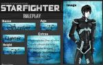 Starfighter RP: Saxton by LilWicky