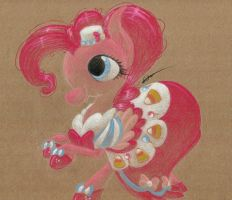 Favorite Pony Outfits: Pinkie Pie's Gala Gown by getchanoodlewet