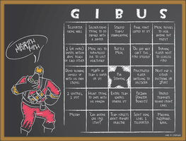 Pub Fortress 2 GIBUS pyro card by cyberogue