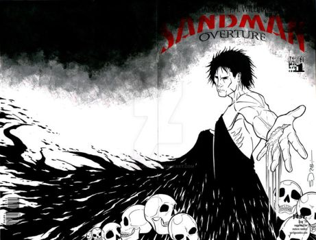 Sandman Black Cover Commission by sorah-suhng