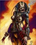 female predator colored by davidnewbold