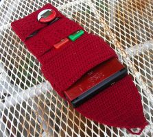 Crochet DS Case - Open by W0IfDreamer