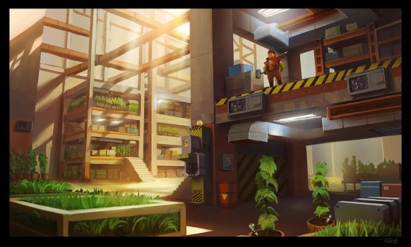 Scrap Mechanic Warehouse by Tonyholmsten