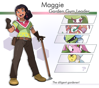 Gym Leader #7 - Maggie by locomotive111