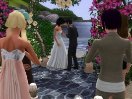 the wedding by TheSims3Pets