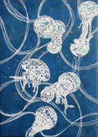 The dance of jellyfishes going by Shiva-X