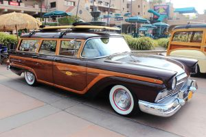 57 Ford Surf Wagon by DrivenByChaos