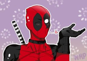 Kawaii DeadPool by watermelonpower