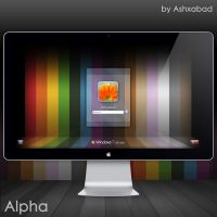 Alpha. Windows 7 Logon by Ashxabad