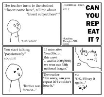 Random Thought: Can You Repeat It? XD by DarkRose-chan