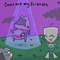 Gir Loves Cows by HapyCow