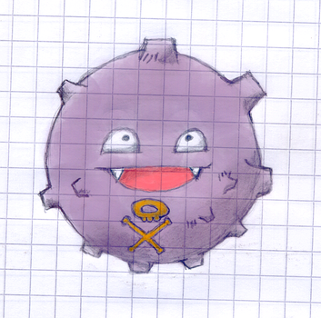 Koffing Color by Finalfo