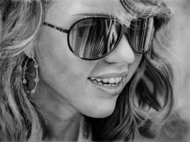 Drawing Jessica Alba by Gattanday
