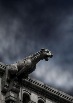 Gargoyle BG 02 by the-night-bird