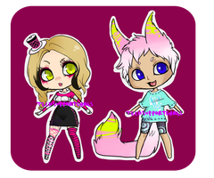 Couple Adopt 2 {CLOSED} by TechSupportGirls