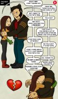 Wolverine and Rogue Comic 9 by yeyforme