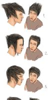 Hair styles by liamslackofsurprise